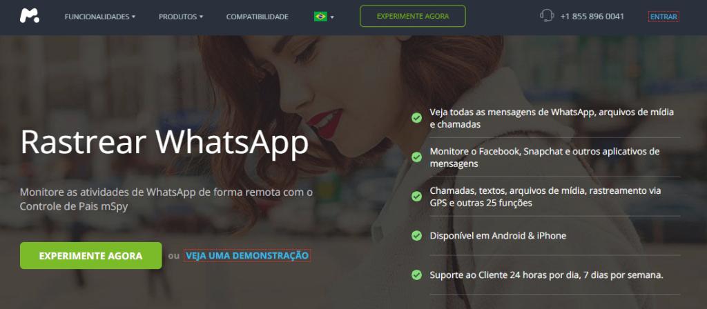 accessar para Whatsapp