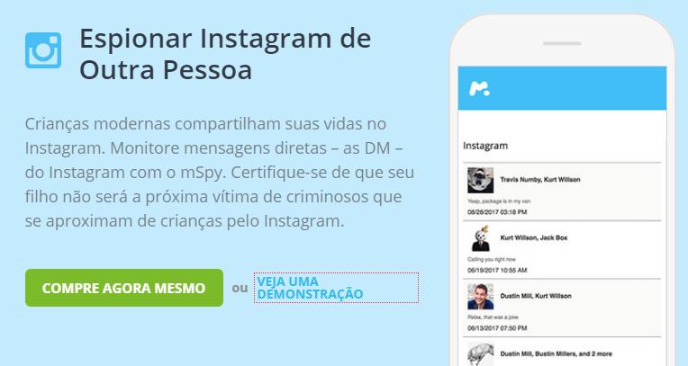 Espionar Instagram de outra persona
