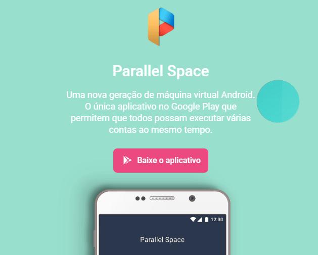 parallel space clonar Instagram